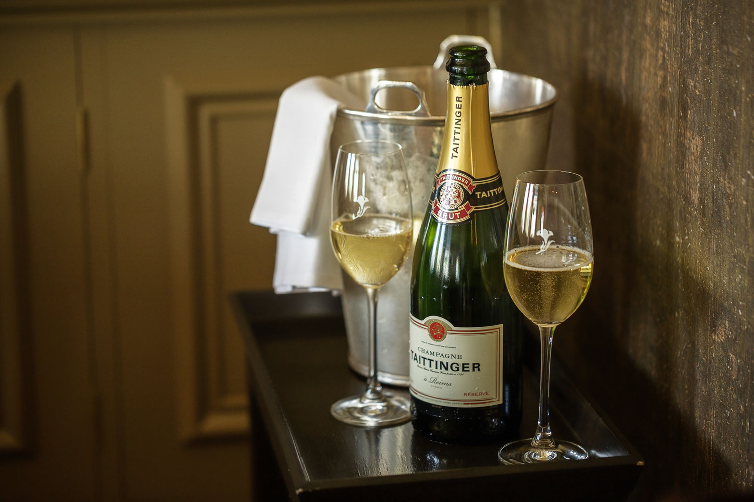 Taittanger champagne - Adam Hillier Commercial Photography
