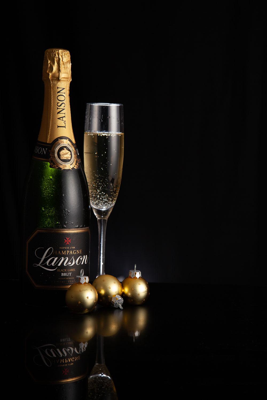 Lanson champagne - Adam Hillier Commercial Photography